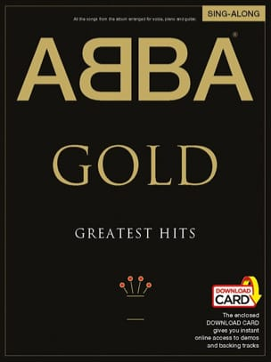 ABBA - Gold Greatest Hits Sing-Along - Sheet Music - di-arezzo.com