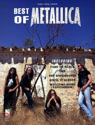 Metallica - Best Of Metallica - Partition - di-arezzo.fr