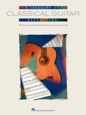 - A Treasury Of Classical Guitar Repertoire - Partition - di-arezzo.fr