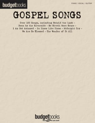 - Budget books - Gospel songs - Partition - di-arezzo.fr