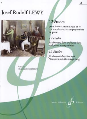 Josef Rudolf Lewy - 12 Studies For The Horn Volume 2 - Sheet Music - di-arezzo.co.uk