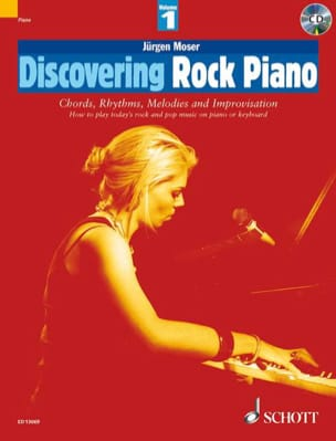 Jürgen Moser - Discovering Rock Piano Volume 1 - Partition - di-arezzo.fr