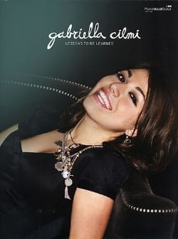 Gabriella Cilmi - Lessons To Be Learned - Sheet Music - di-arezzo.co.uk