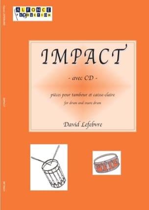 Impact Volume 1 - David Lefebvre - Partition - laflutedepan.com