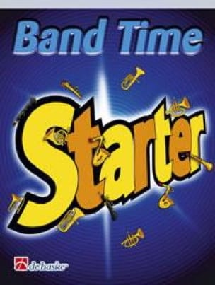 Jan De Haan - Band Time Starter - Percussion 3, 4. Harmony - Sheet Music - di-arezzo.com