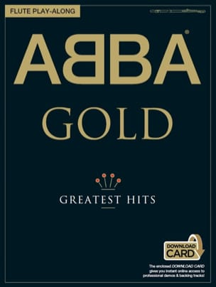 ABBA - Abba Gold Greatest Hits Flute Play Along - Sheet Music - di-arezzo.co.uk