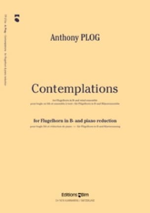 Contemplations - Anthony Plog - Partition - laflutedepan.com