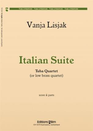 Italian Suite - Vanja Lisjak - Partition - Tuba - laflutedepan.com