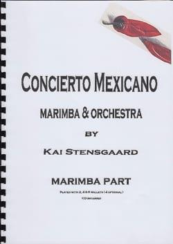 Concierto Mexicano - Marimba Part Kai Stensgaard laflutedepan