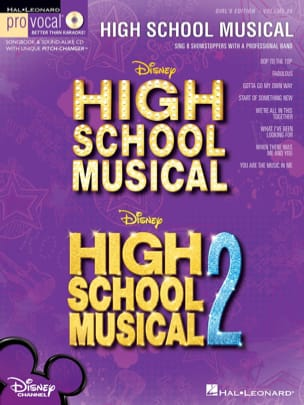 Pro Vocal Women's Edition Volume 28 - High School Musical 1 & 2 laflutedepan