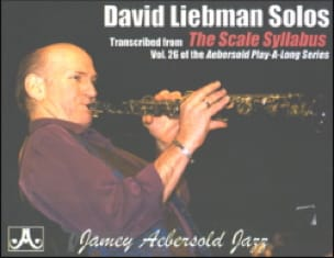 David Liebman - Transcribed From The Scale Syllabus - Partition - di-arezzo.fr