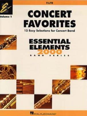 - Concert favorites volume 1 Flute - Sheet Music - di-arezzo.com