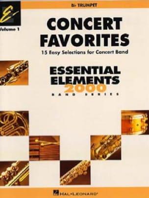 - Concert favorites volume 1 Bb trumpet - Sheet Music - di-arezzo.com