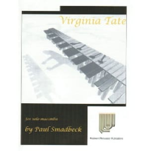 Virginia tate Paul Smadbeck Partition Marimba - laflutedepan