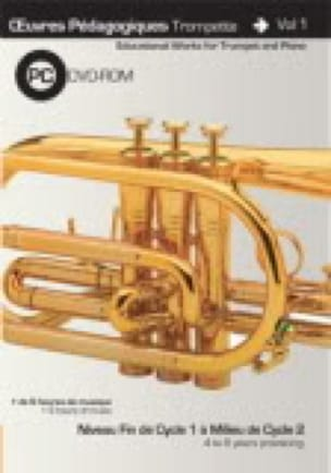 Saunier Clément / Kingdom Jan - Teaching Works Trumpet And Piano Volume 1 - Sheet Music - di-arezzo.co.uk