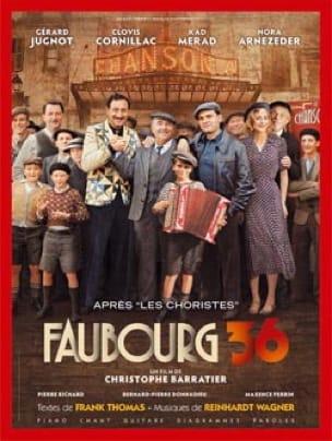 Reinhardt Wagner - Faubourg 36 - Partitura - di-arezzo.es