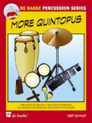 More Quintopus - Gert Bomhof - Partition - laflutedepan.com