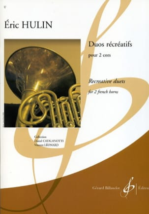 Duos Récréatifs - Eric Hulin - Partition - Cor - laflutedepan.com