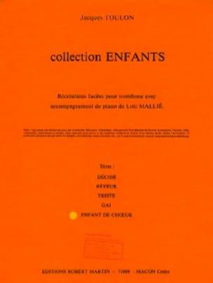 Jacques Toulon - Niño del coro - Partitura - di-arezzo.es