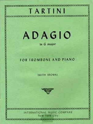 Giuseppe Tartini - Adagio In G Major - Partitura - di-arezzo.es