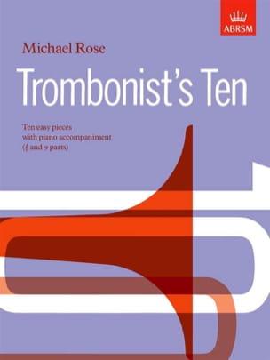 Michael Rose - Trombonist's Ten - Partition - di-arezzo.fr