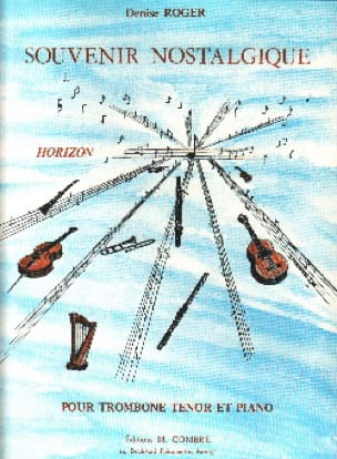 Denise Roger - Souvenir Nostalgique - Partition - di-arezzo.fr