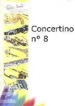 Julien Porret - Concertino N° 8 - Partition - di-arezzo.fr