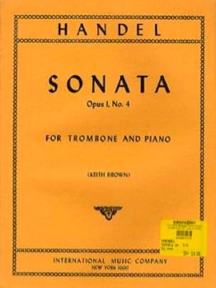 Sonata In A Minor, Opus 1 N° 4 - HAENDEL - laflutedepan.com