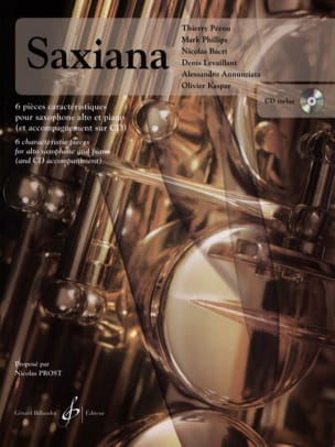 Saxiana - 6 piece features - Sheet Music - di-arezzo.co.uk