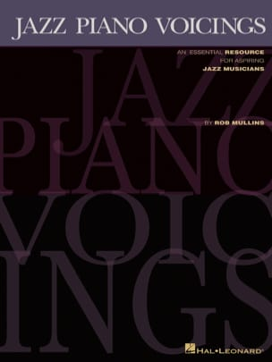 Rob Mullins - Jazz Piano Voicings - Sheet Music - di-arezzo.co.uk