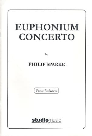 Philip Sparke - Euphonium Concerto N ° 1 - Partition - di-arezzo.co.uk
