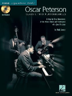 Oscar Peterson - Classic Trio Performances - Sheet Music - di-arezzo.co.uk