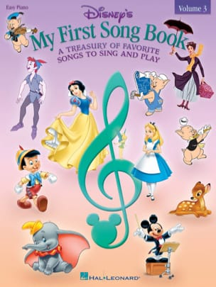 DISNEY - My first songbook volume 3 - Easy Piano - Partition - di-arezzo.fr