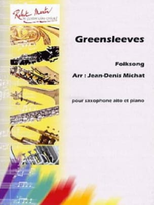 Greensleeve - Partition - Saxophone - laflutedepan.com