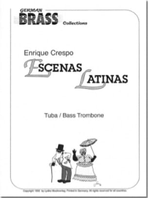 Escenas Latinas - Enrique Crespo - Partition - Tuba - laflutedepan.com