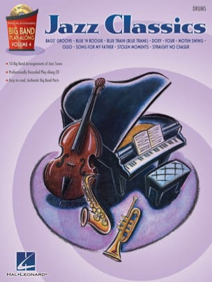 Big band play-along volume 4 - Jazz Classics - Sheet Music - di-arezzo.co.uk