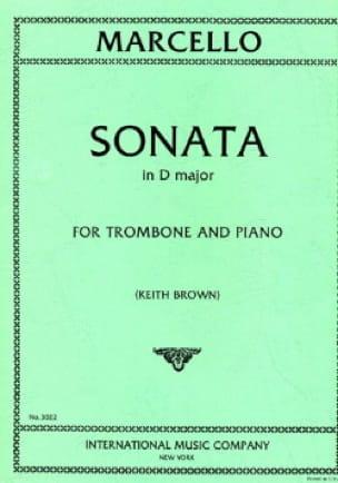 Sonata In D Major - Benedetto Marcello - Partition - laflutedepan.com