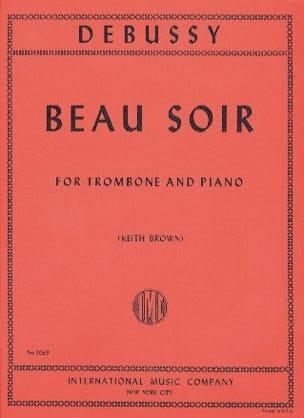 Claude Debussy - Beau Soir - Partition - di-arezzo.fr