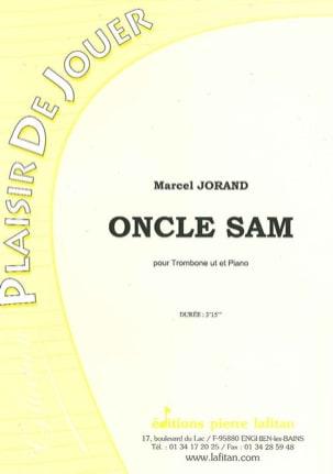 Oncle Sam - Marcel Jorand - Partition - Trombone - laflutedepan.com