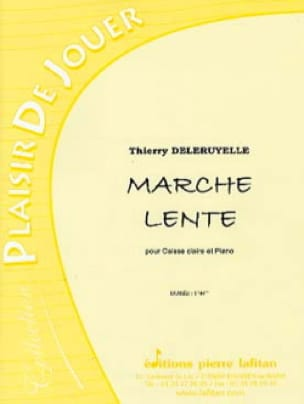 Thierry Deleruyelle - Slow walk - Sheet Music - di-arezzo.com