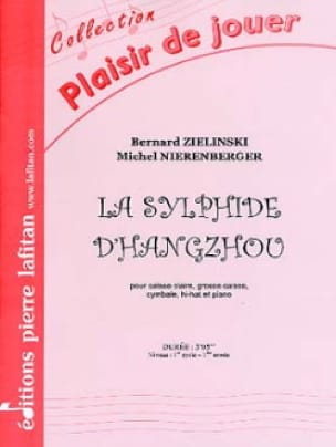 Zielinski Bernard / Nierenberger Michel - The Sylph of Hangzhou - Sheet Music - di-arezzo.com