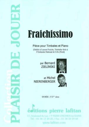 Zielinski Bernard / Nierenberger Michel - Fraichissimo - Partition - di-arezzo.fr
