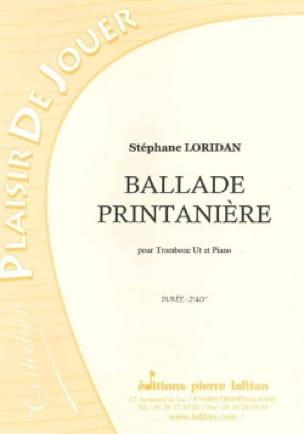 Ballade Printanière - Stéphane Loridan - Partition - laflutedepan.com