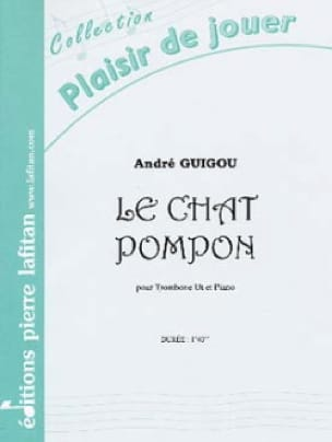 André Guigou - The Pompon Cat - Sheet Music - di-arezzo.com