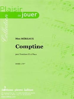 Max Méreaux - Comptine - Partition - di-arezzo.fr
