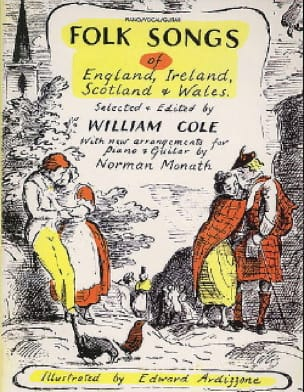 William Cole - Folk Songs Of England, Ireland, Scotland & Wales - Partition - di-arezzo.fr