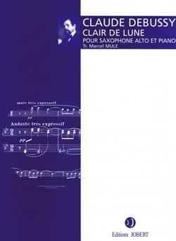 Clair de Lune DEBUSSY Partition Saxophone - laflutedepan