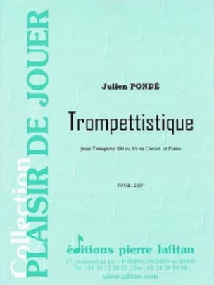 Trompettistique - Julien Pondé - Partition - laflutedepan.com