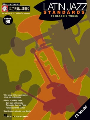 - Jazz play-along volume 96 - Latin Jazz Standards - Sheet Music - di-arezzo.co.uk