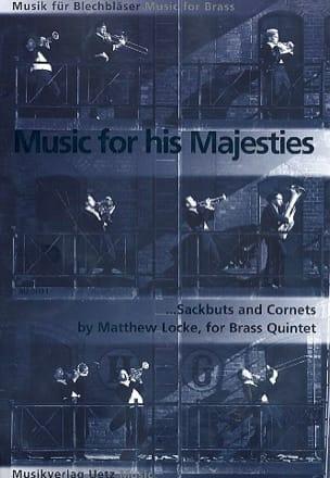 Matthew Locke - Music For His Majesties Sacbuts And Cornets - Partition - di-arezzo.fr